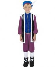 Tudor Boy Costume